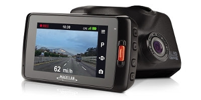 The Magellan MiVue 420 features lane departure and collision avoidance warnings, ultra high definition recording, and a wide angle lens that increases driver peace of mind and safety.