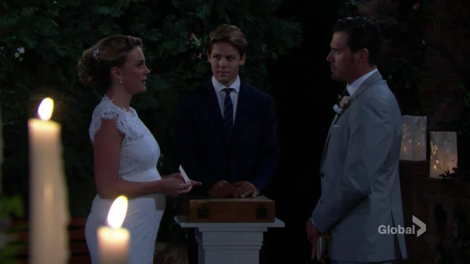 Les Feux de l'Amour (Photos)  Le mariage de Nick & Sage  #YR