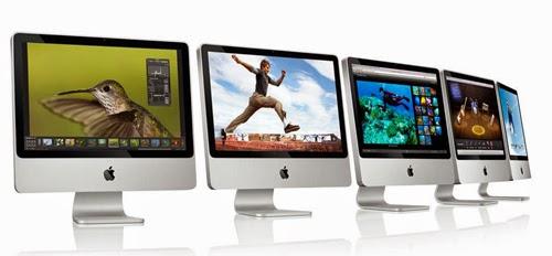современные моноблоки iMac