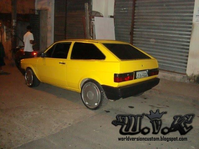 Belissimo Gol Quadrado Amarel  O Motor Turbo 2 1L No Trato Total