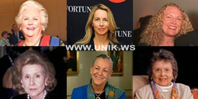 10 Wanita Terkaya Di Amerika Serikat