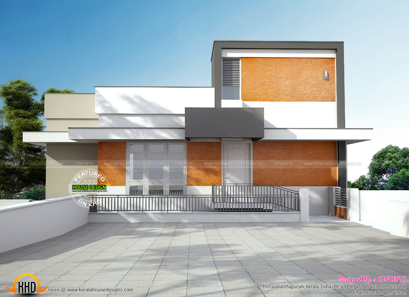 Single Ground Floor Elevation : June kerala home design and floor plans