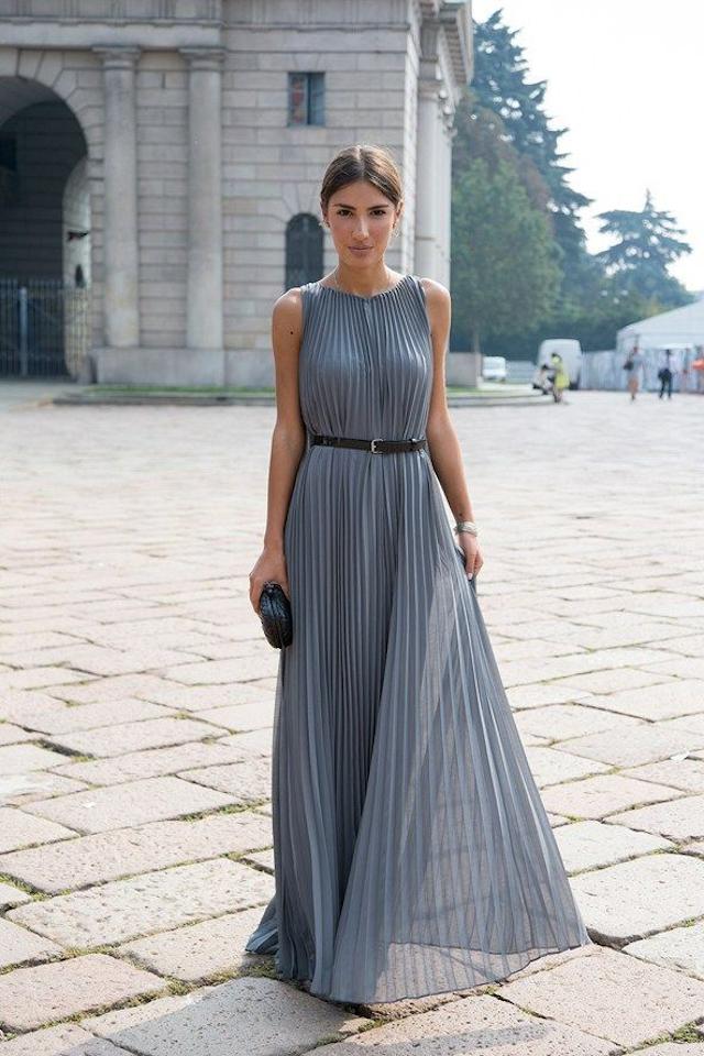 Invitadas elegantes.. y con vestido largo! | A todo Confetti - Blog ...