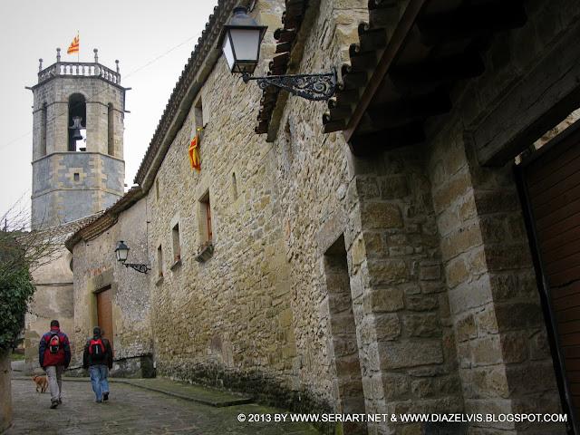 Paseo can pereredes carrer major iglesia de sant - Tiempo en sant quirze ...