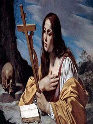 "Santa María Magdalena ""Modelo de penitentes"""