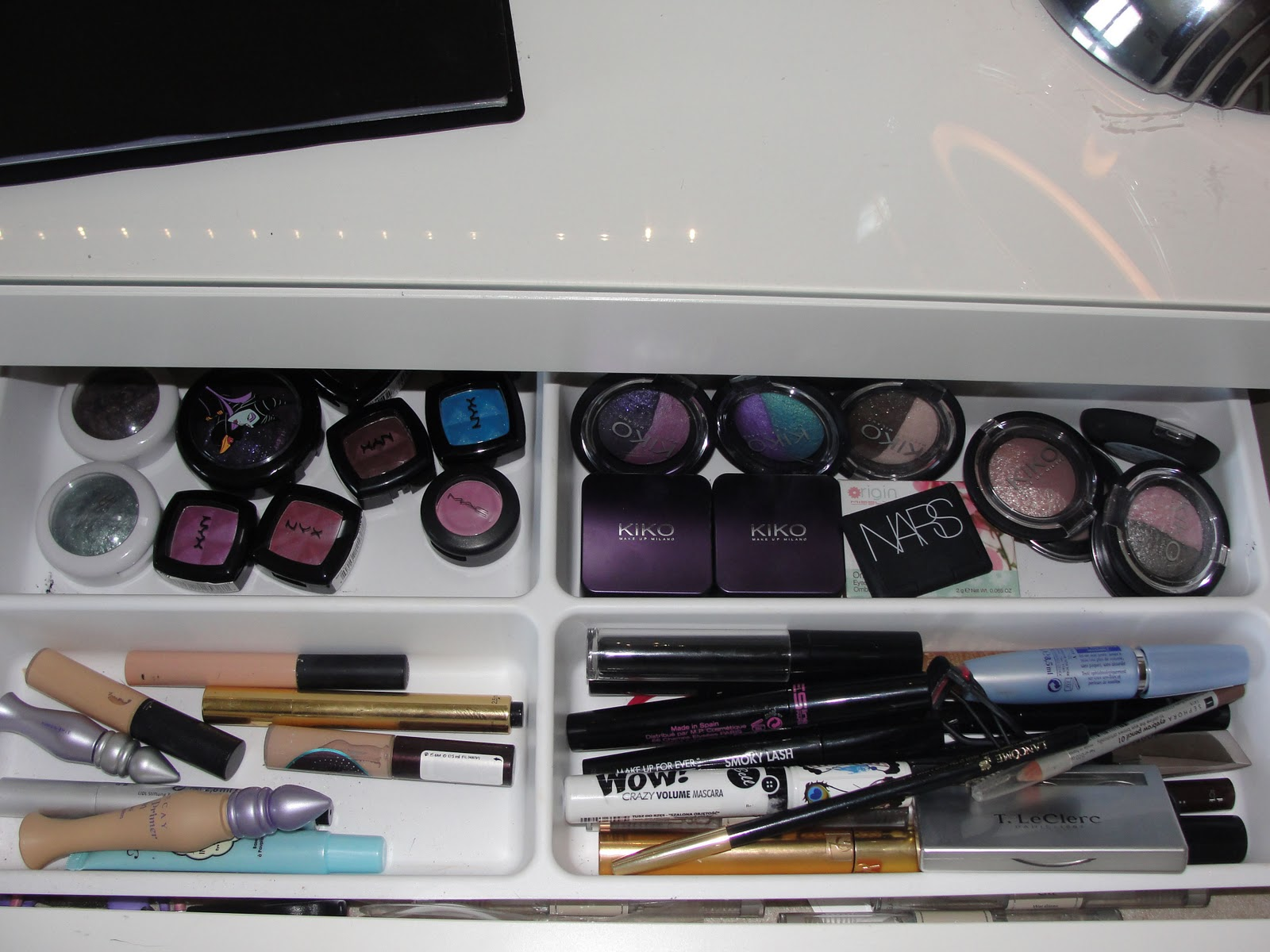 My little make up blog de beaut mon rangement make up - Ou trouver rangement maquillage ...