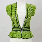 vesta dama (verde)