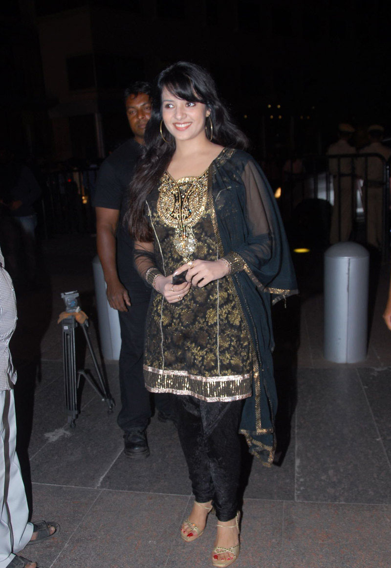 Saloni Aswin in black suit - Saloni Aswin in black suit