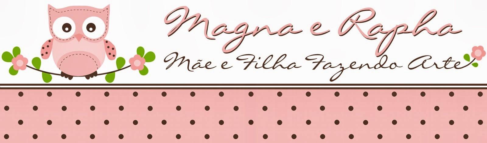 Magna e Rapha - Mãe e filha fazendo ARTE!