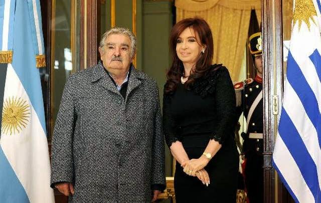 """Ante Mujica, Cristina dijo que lo importante es la """"unidad"""""""