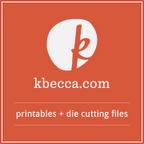 k.becca printables