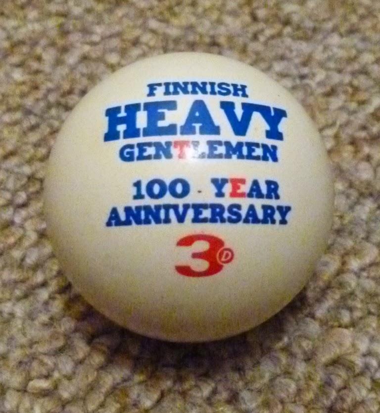 The Finnish Heavy Gentlemen 100 Year Anniversary ball by 3D-Minigolf