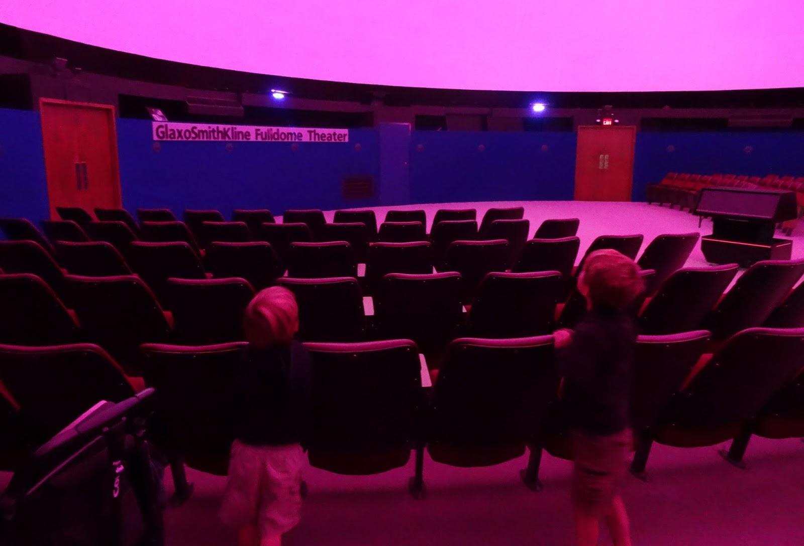 Morehead planetarium wedding