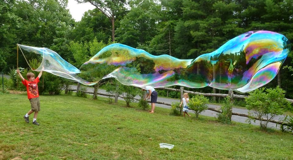 The Enchanted Tree: Giant Bubble Wands and Bubble Drama