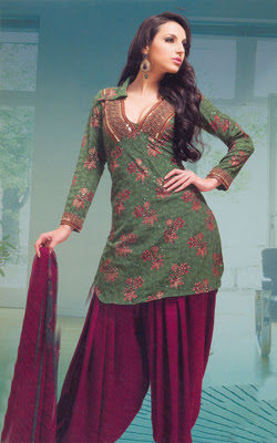 Latest Fashion In Salwar Kameez Punjabi