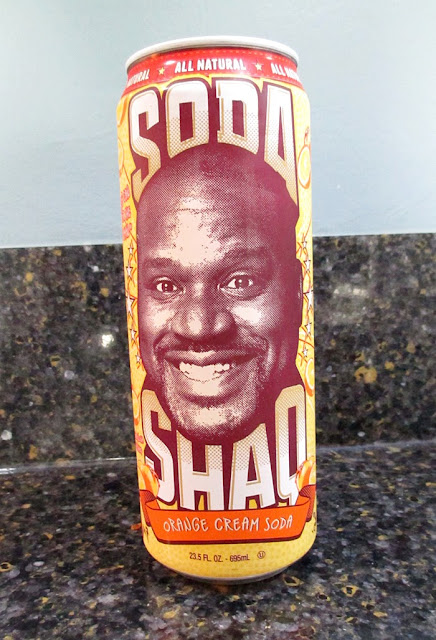Soda Shaq Orange Cream Soda