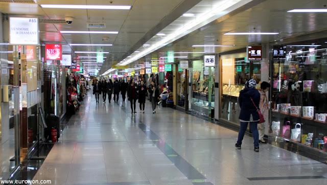 Estación del Ayuntamiento del metro de Seúl
