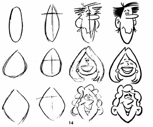 Caricatura facil de dibujar - Imagui