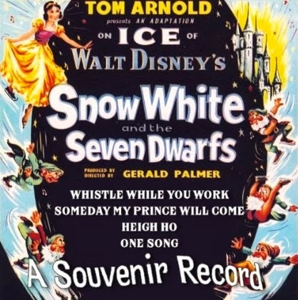 Disney Snow White Ice Show Record Cast Album Tom Arnold