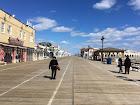 Winter Boardwalk at Ocean City, NJ