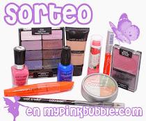 """Sorteo en """"My Pinkbubble"""""""