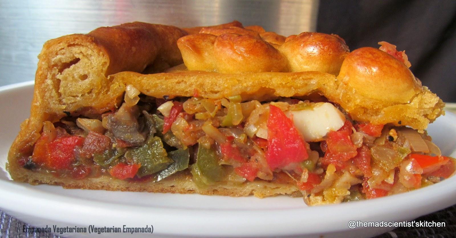 Empanada vegetariana (Vegetarian empanada)