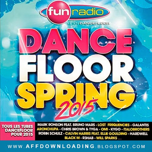CD Fun Radio Dancefloor Spring – 2015
