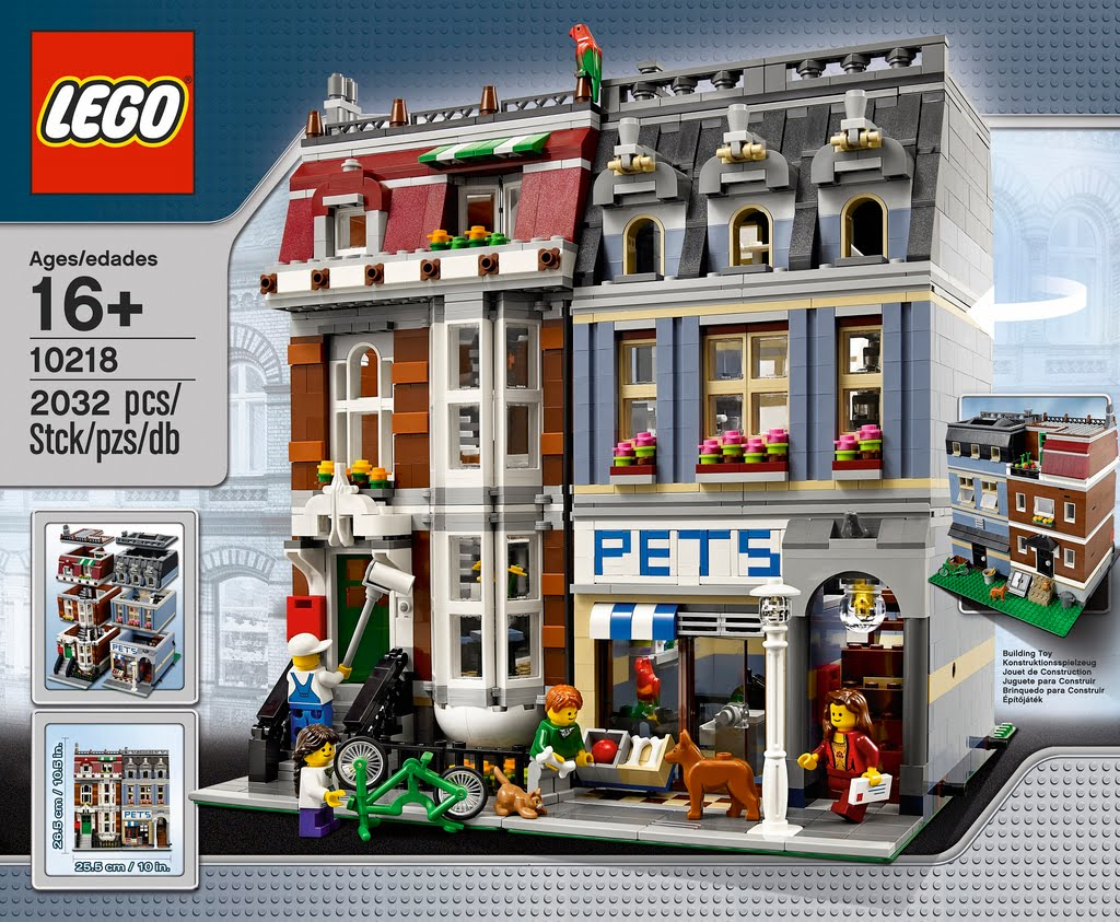 Lego Asia: Lego Pet Shop 10218 New