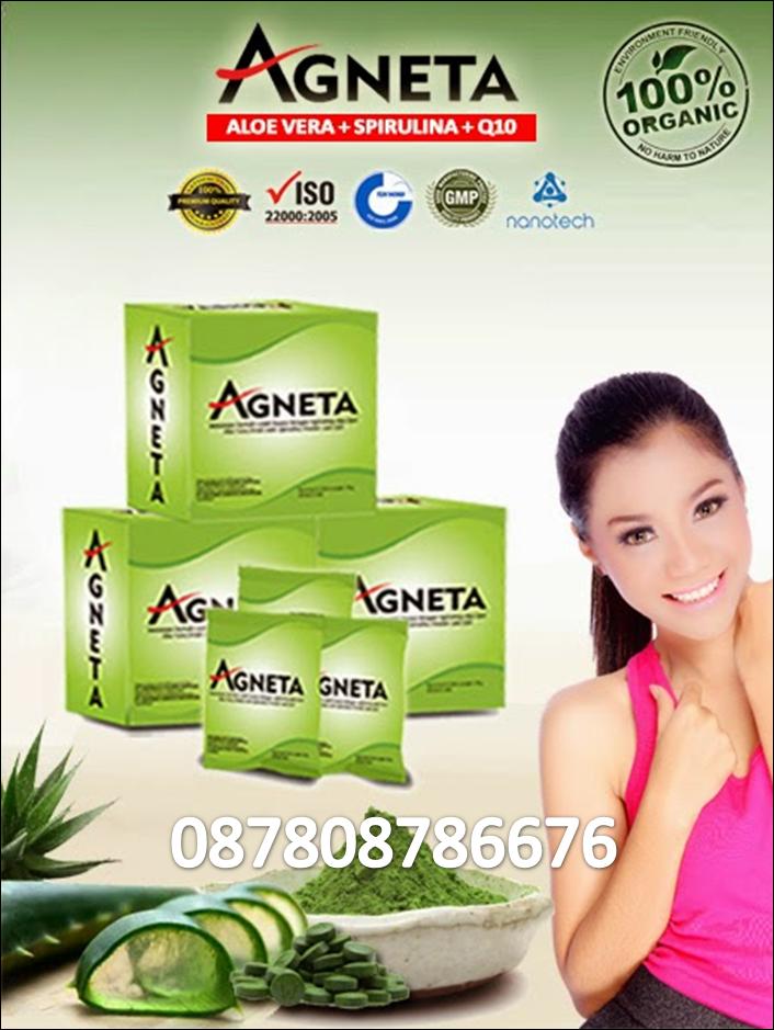 Agneta dengan Aloe Vera, Spiriluna dan Q10
