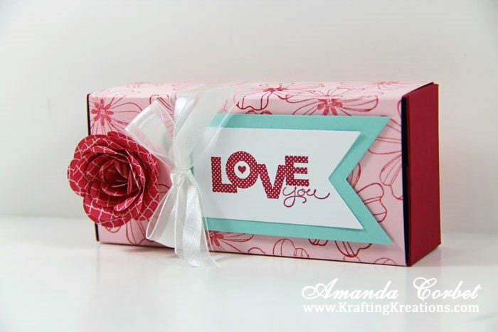 Love You Gift Box Tutorial