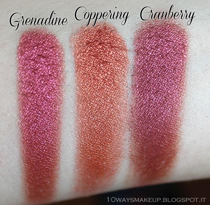 Nabla Cosmetics Genesis Grenadine swatch