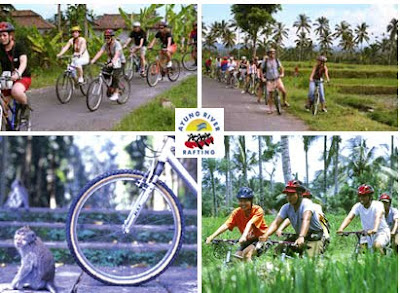 Cycling With Ayung River Rafting Company