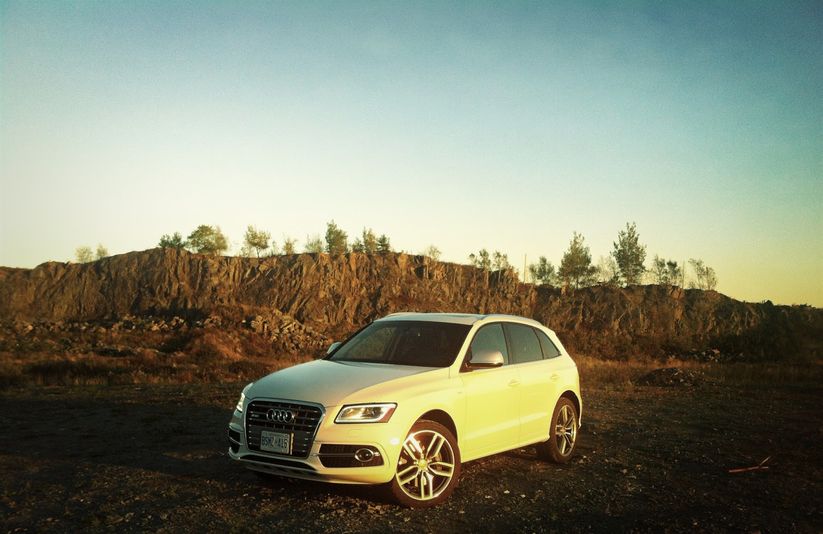 2014 Audi SQ5 Technik front