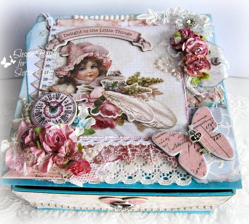 scottie crafts blog shabby chic box by sue butler. Black Bedroom Furniture Sets. Home Design Ideas