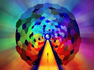 rainbow art background for photoshop