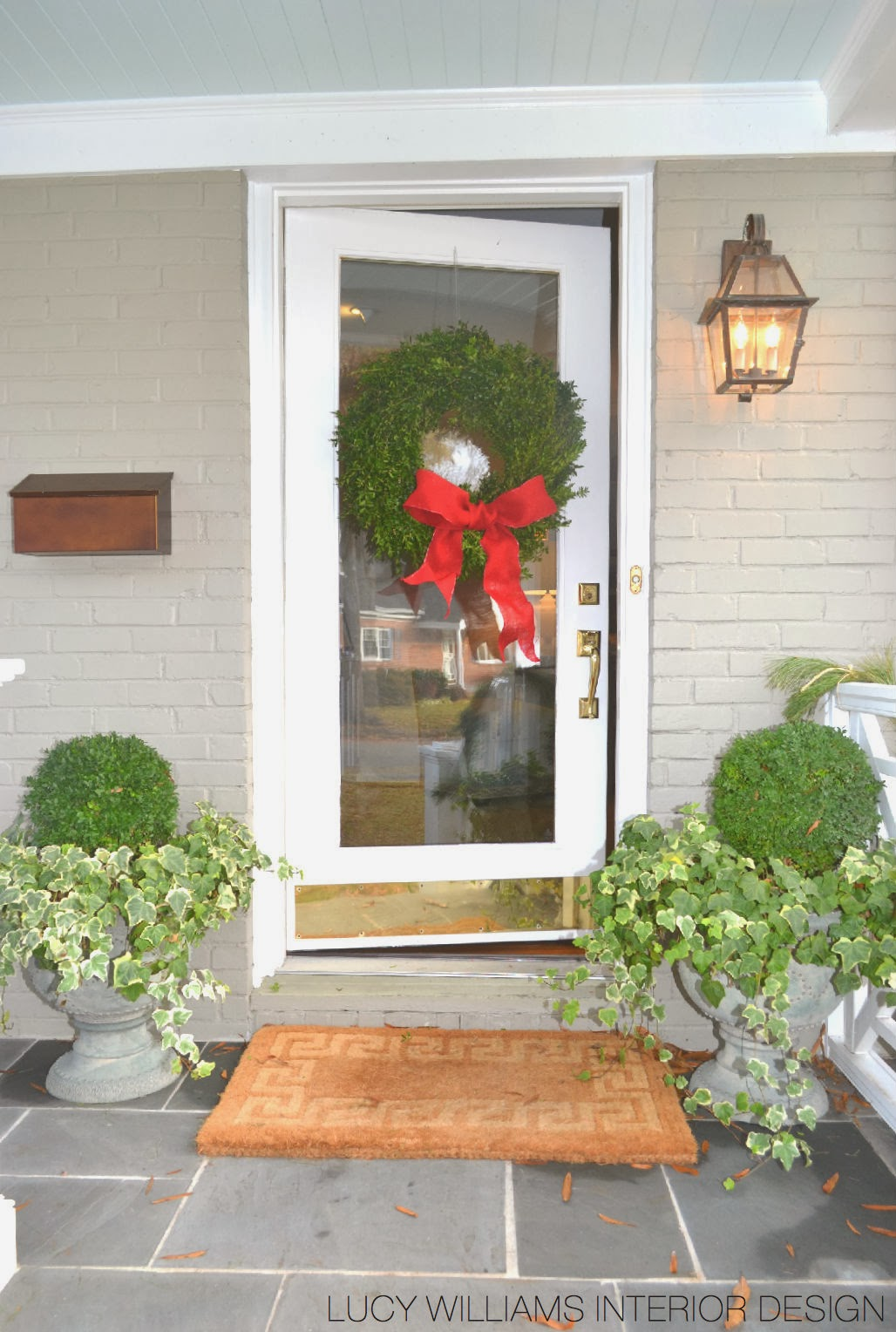 Lucy williams interior design blog christmas decor at for Lucy williams interiors