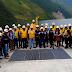 Autoridades de Leoncio Prado, fiscales y periodistas, verificaron el buen estado de la presa de la Central Hidroeléctrica Chaglla.