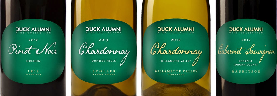 Oregon Duck Alumni Wine Collection