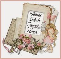 1e prijs gewonnen bij Dutch Magnolia Lovers