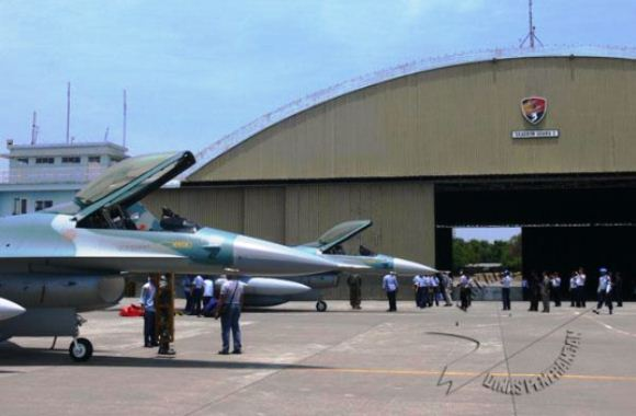 F-16C TNI AU