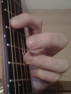 F major9 guitar chord