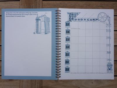 Plannerisms: Dodo Acad-Pad desk size and A5 Filofax insert diary