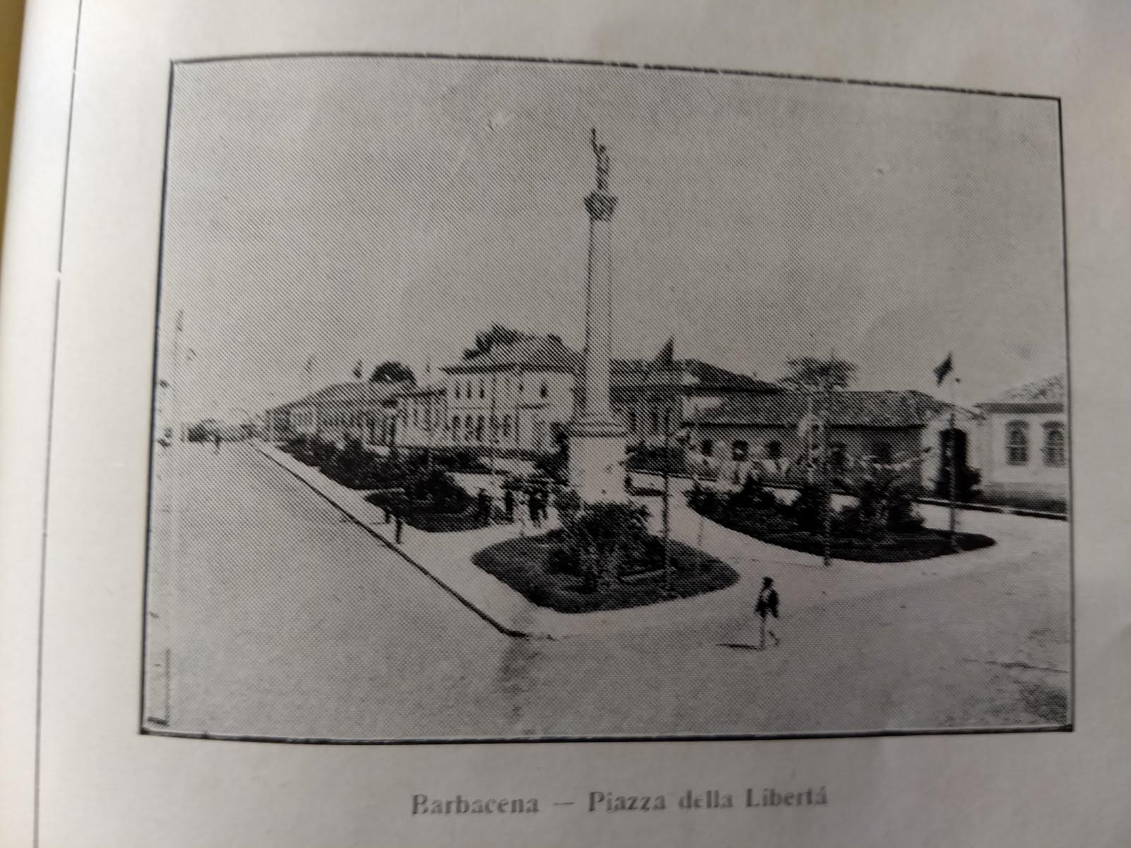 Praça da Liberdade ou Jogo da Bola, hoje Conde de Prados