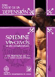 Via-Crucis Unión de Hermandades Año de la Fe- Santísimo Cristo de la Defensión