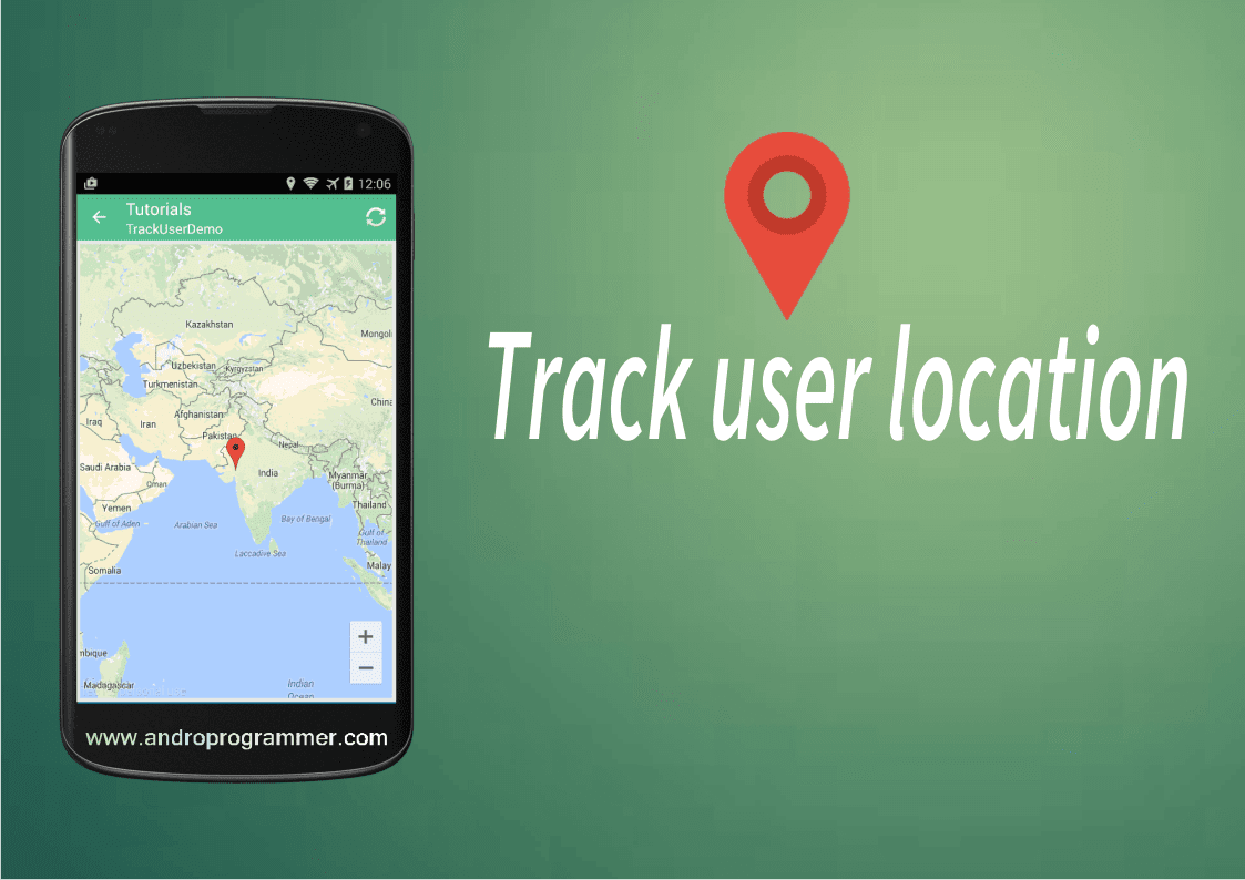 gps in android application, androprogrammer.com