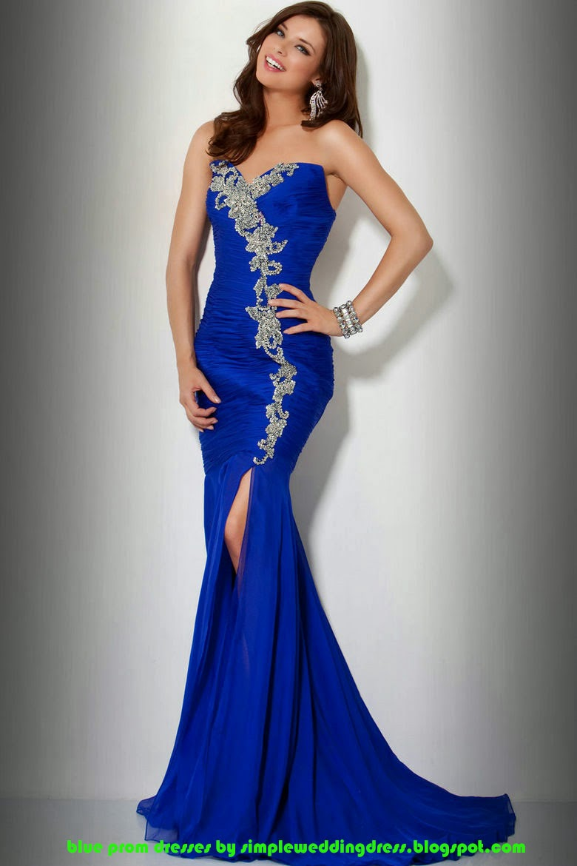Купить Синие Вечернее Платье