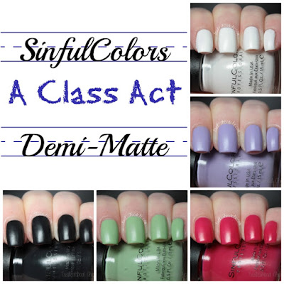 sinful colors a class act swatch review