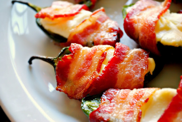 Bacon Wrapped Jalapeños l SimplyScratch.com