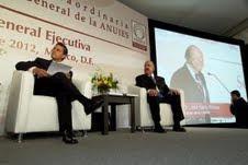 Enrique Peña Nieto en la Asamblea Anual de la ANUIES