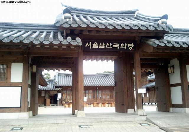 Teatro coreano de la aldea tradicional Namsangol